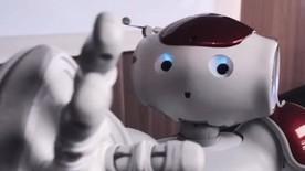 Poster zum Video Nao Roboter im BMBF