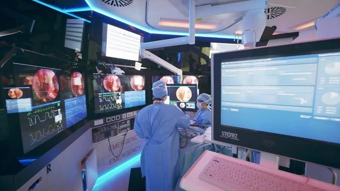 Poster zum Video Der Operationssaal der Zukunft