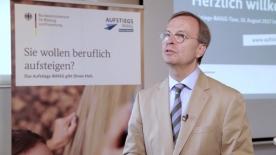 Poster zum Video Die Aufstiegs-BAföG-Info-Tour im Krankenhaus Düren