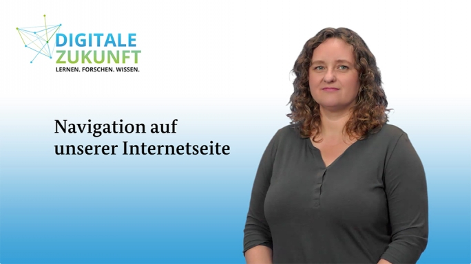 Poster zum Video Navigation auf www.bildung-forschung.digital