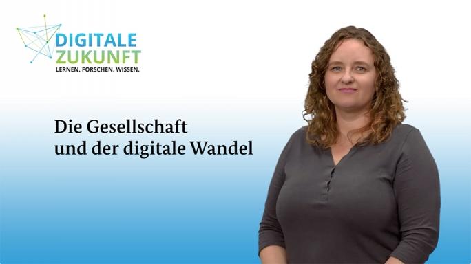 Poster zum Video Die Gesellschaft und der digitale Wandel