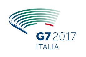 Logo der italienischen G7-Präsidentschaft