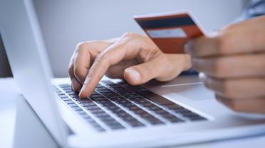 Onlinebezahlung mit Kreditkarte