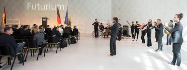 Für die musikalische Begleitung der Festveranstaltung sorgte das Stegreif-Orchester.