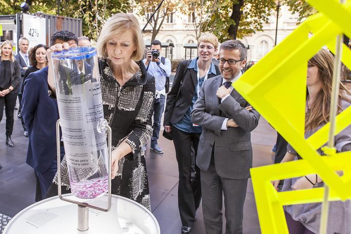 Eröffnung des Ocean Plastics Lab
