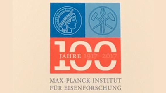 Logo zu 100 Jahre Max-Planck-Institut für Eisenforschung