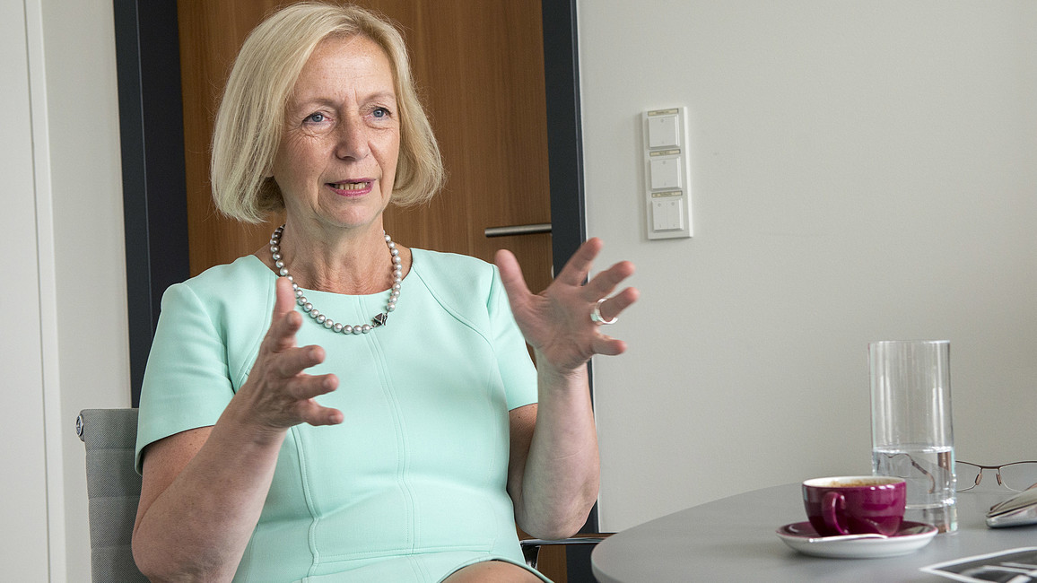 Interview mit Johanna Wanka