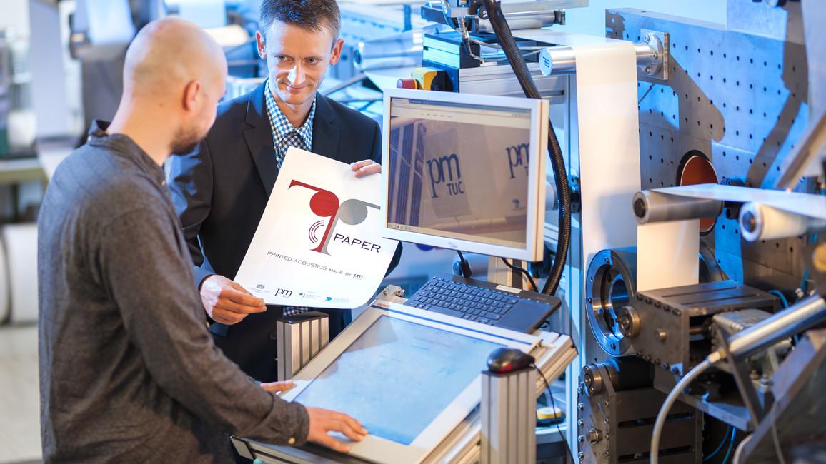 T-Paper - Lautsprecher aus Papier