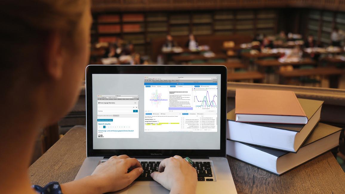 Vernetzte Arbeit einer Forschungsinfrastruktur