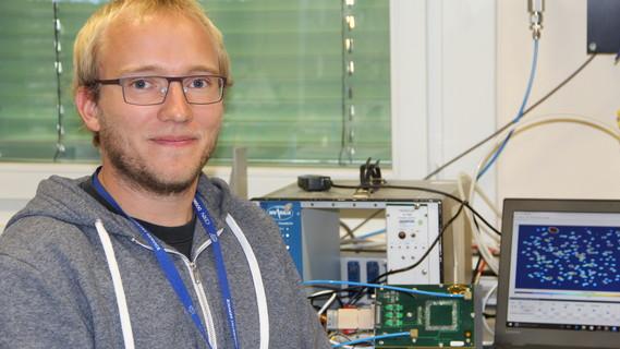 Johannes Leidner, Doktorand im Gentner- Stipendienprogramm
