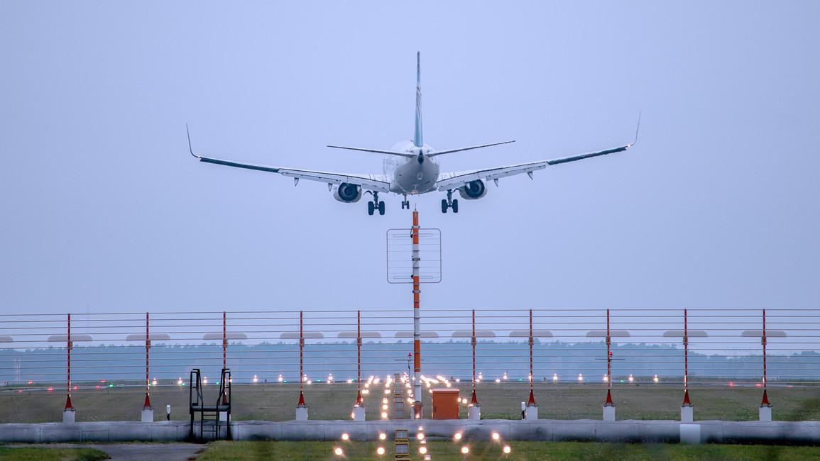 Landung in Berlin-Schönefeld