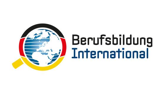 """Logo anlässlich der BMBF-Förderinitiative """"Internationalisierung der Berufsbildung"""""""