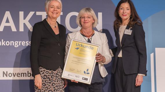 Cornelia Quennet-Thielen, Staatssekretärin im BMBF, während ihrer Rede
