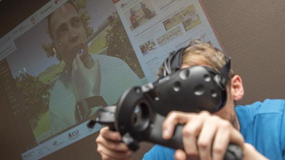 Mit dem Projekt Epicsave können Behandlungsmethoden im virtuellen Raum trainiert werden.