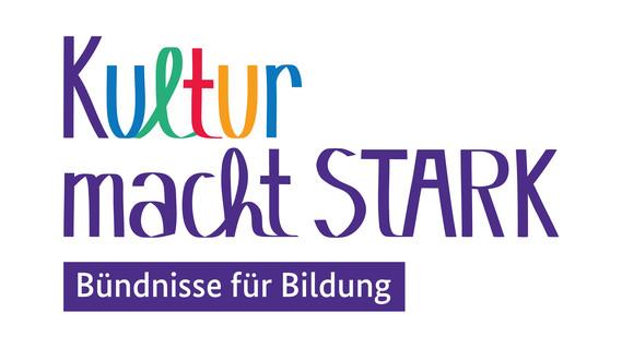 Logo zur Kampagne Kultur macht stark