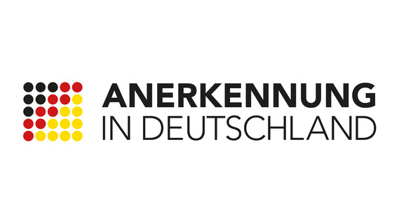 Logo zur Kampagne Anerkennung in Deutschland
