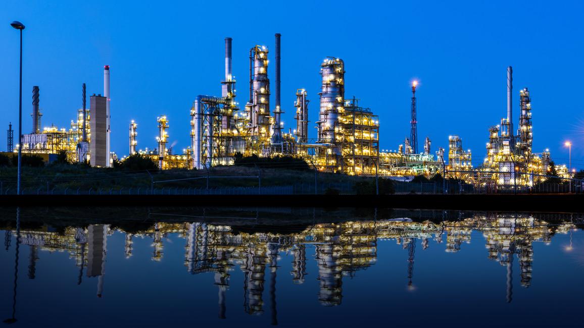 Petrochemische Anlage